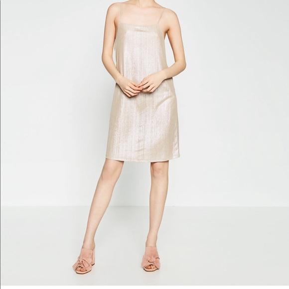 066e8da4 Zara Dresses | Metallic Mini Dress New With Tags Size S | Poshmark